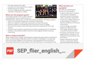 SEP English Flier icon