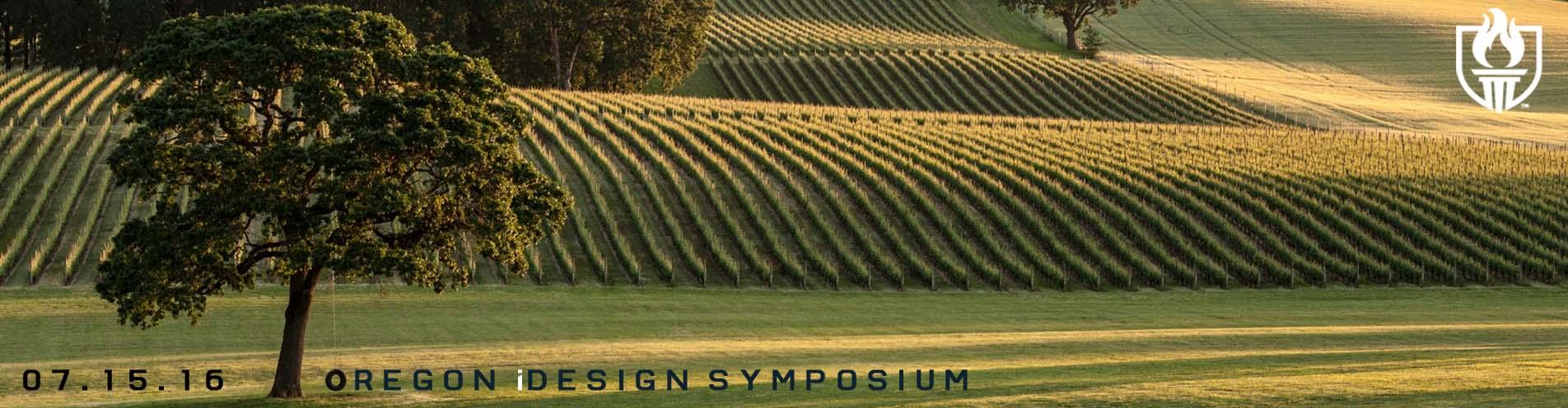 oregon idesign symposium banner