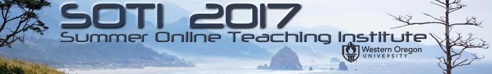 Summer Online Teaching Institute 2017