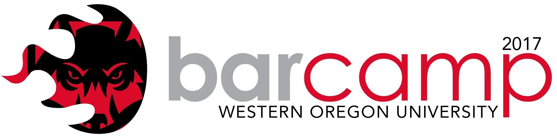 WOU BarCamp 2017 logo