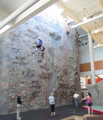 Climbing Wall Campus Recreation