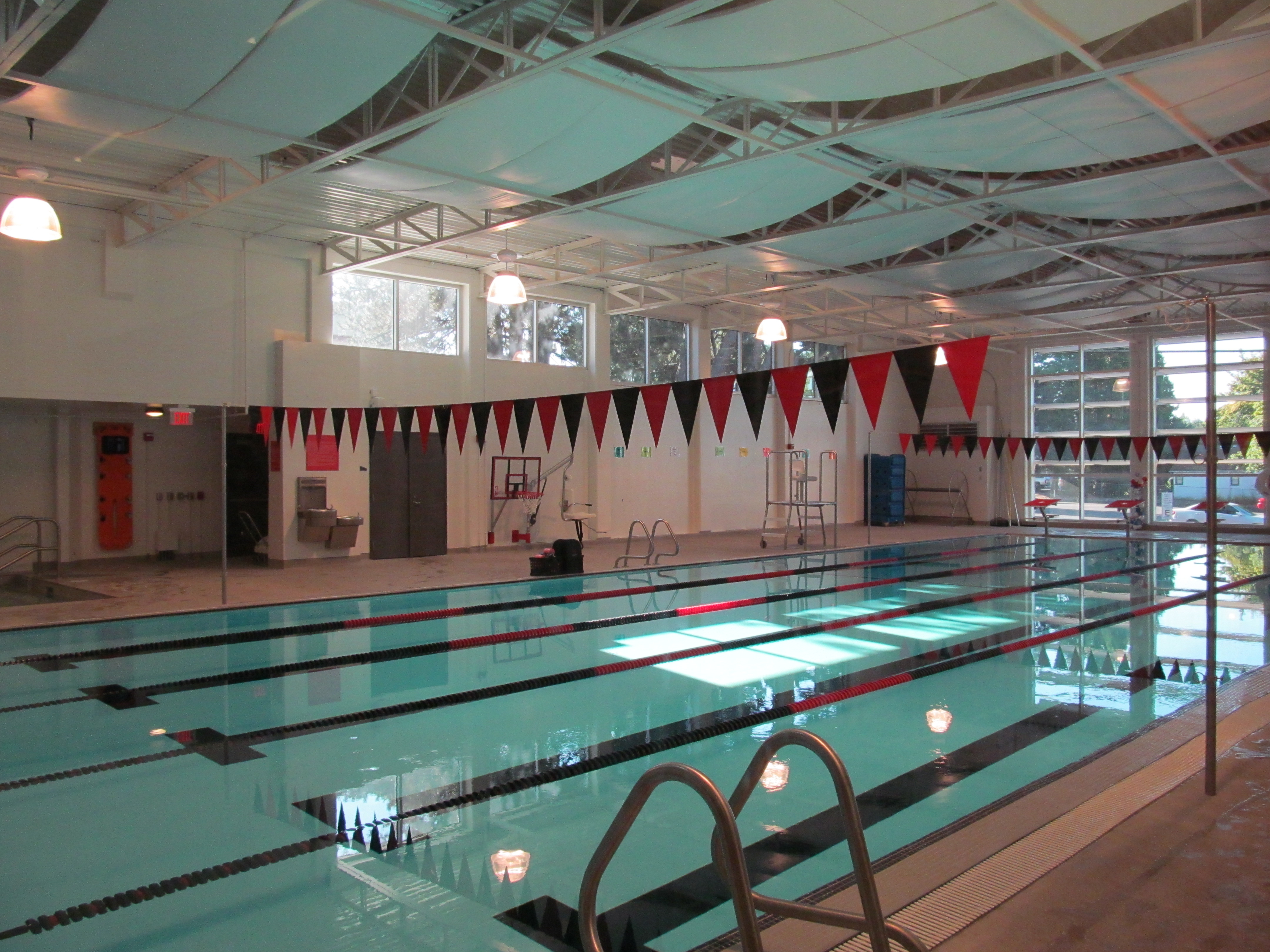 Aquatic center campus recreation for Brooklyn college swimming pool membership