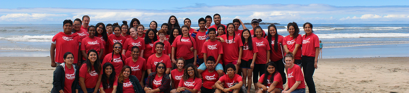 Upward Bound at the Beach!