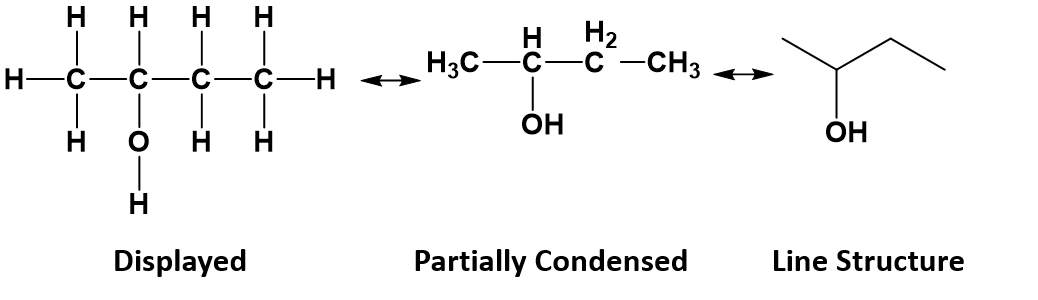 Butanol Lewis Structure