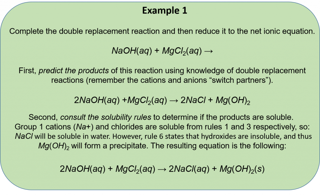 CH150: Chapter 5 - Chemical Reactions - Chemistry