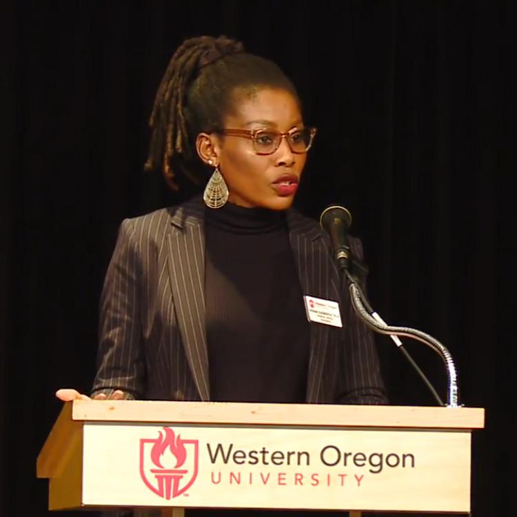 Vivian speaking
