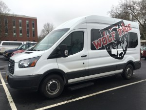 an image of the Wolf Ride van