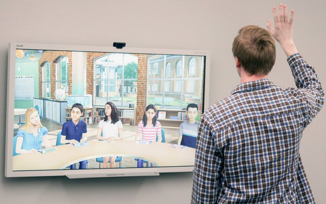 Mursion Lab gives students opportunity to train in virtual classroom