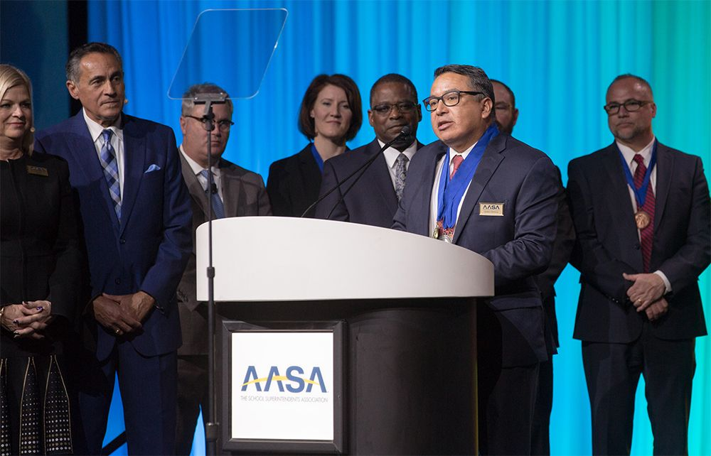 Education alum Gustavo Balderas selected as National Superintendent of the Year