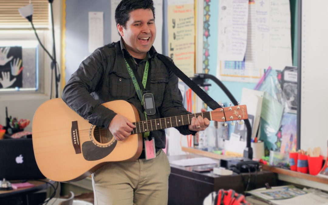 Bilingual early childhood studies graduate brings music to the classroom