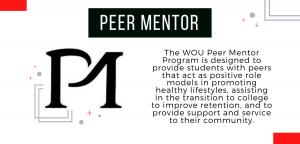 Peer Mentor Program - Student Health & Counseling Center