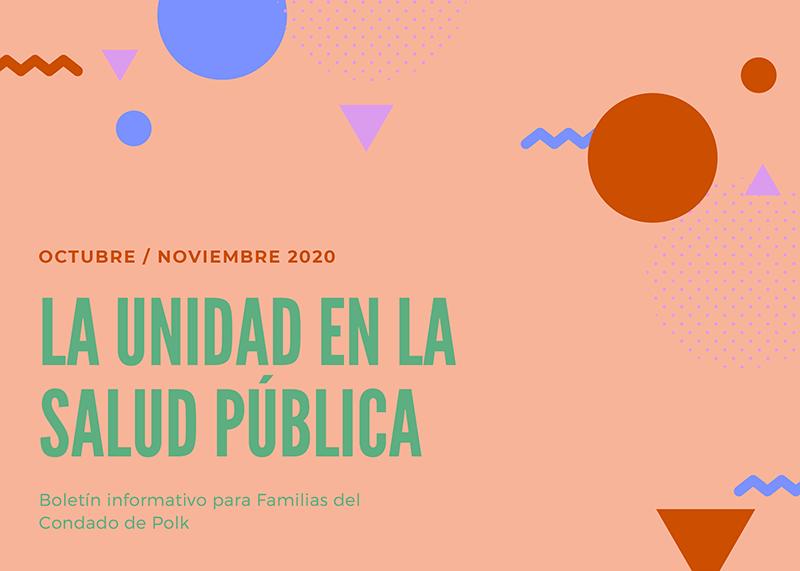 October / November 2020 Latinx Family Newsletter (Spanish)