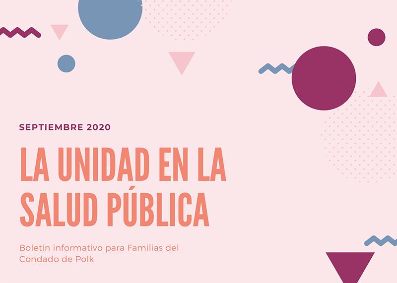 September 2020 Latinx Family Newsletter (Spanish)