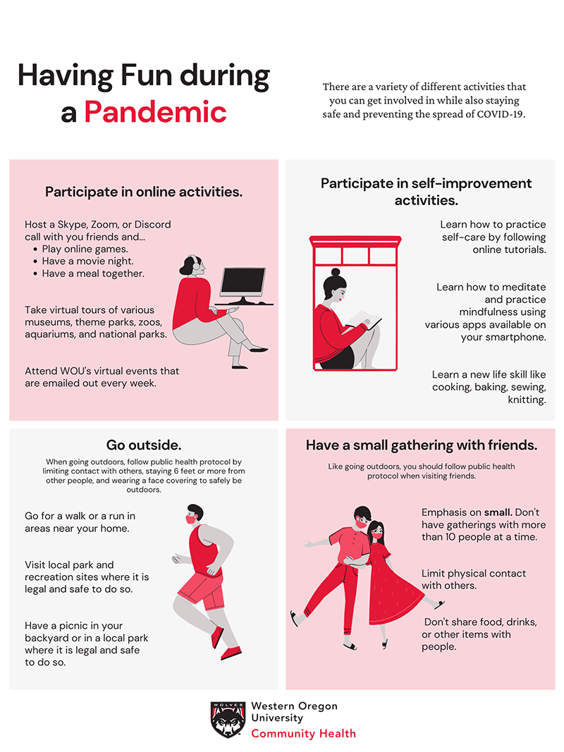 Having Fun During a Pandemic Poster