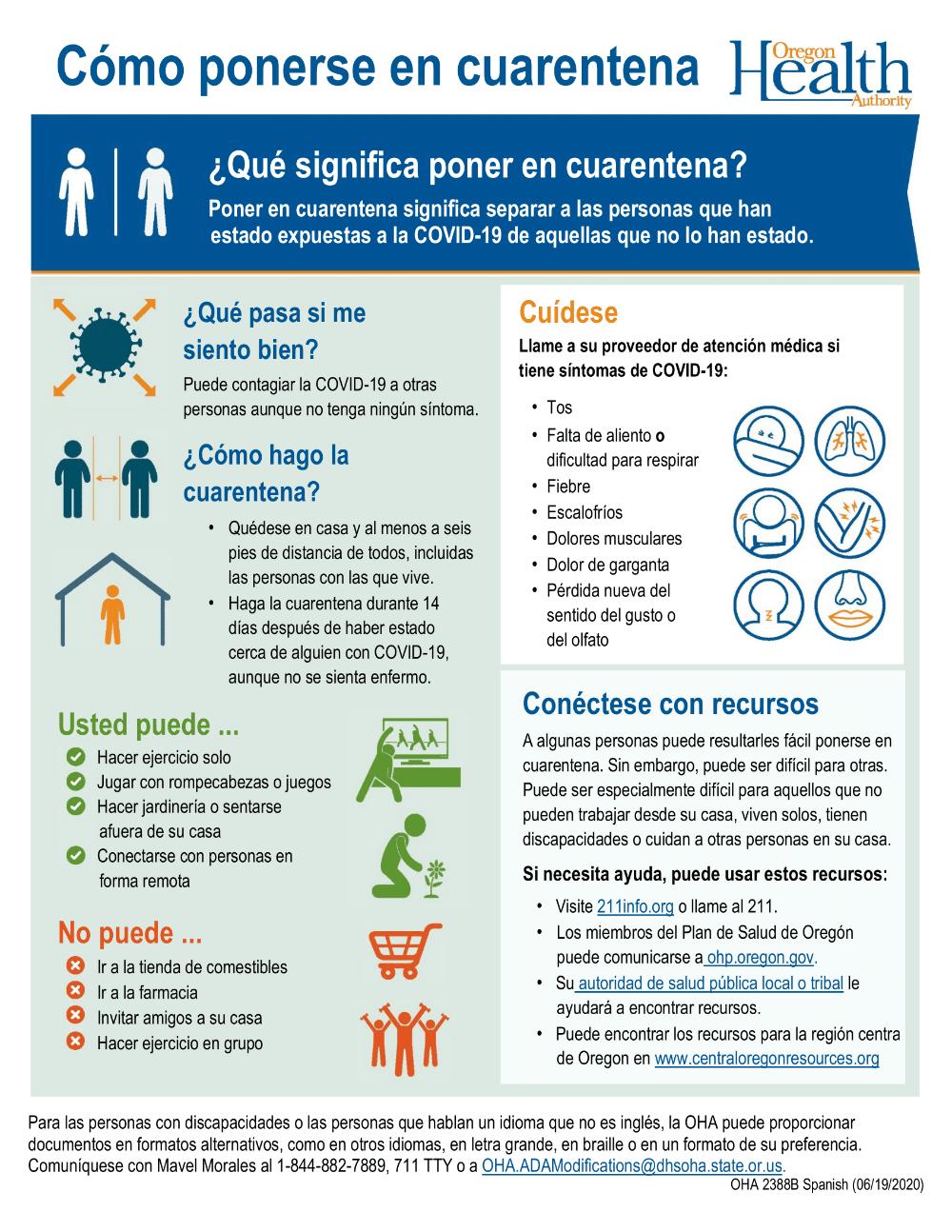 How to Quarantine (Spanish)