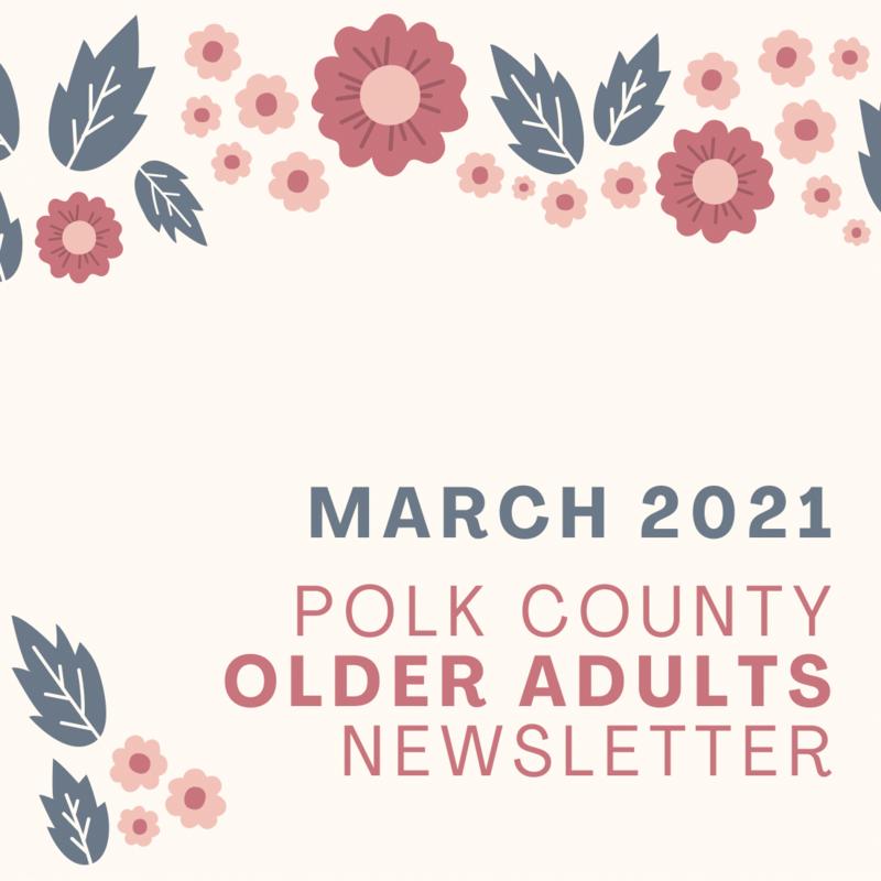 Older Adults Winter Newsletter