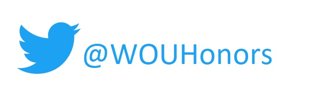 Follow us on Twitter @WOUHonors