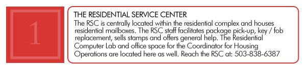 Amenities Residential Service Center
