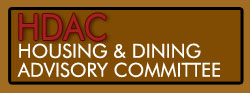 The Housing and Dining Advisory Committee