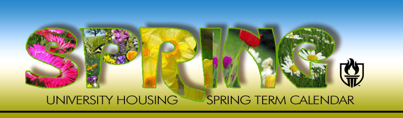 Housing Calendar Spring