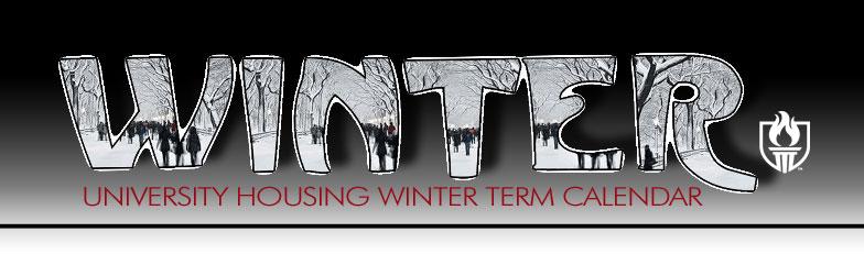 Housing Calendar Winter