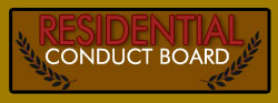 Residential Conduct Board