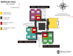 Barnum Hall Floor One Icon