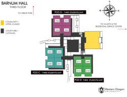 Barnum Hall Floor Three Icon