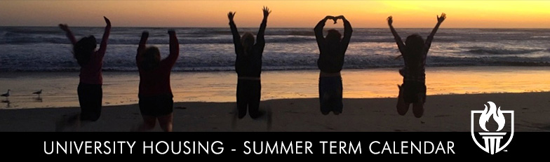 Housing Calendar Summer