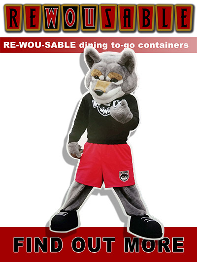 Campus Dining's ReWOUsable Container Program