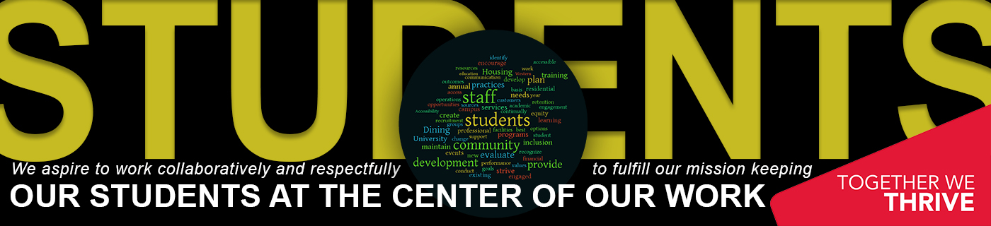 Keeping out students at the center of our work