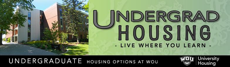 Undergraduate Housing Options at Western Oregon University