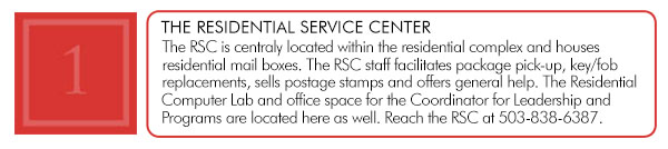 Amenities Residential Service Center