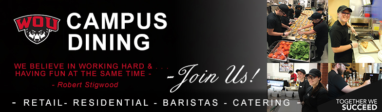 Join Campus Dining - Together we Succeed