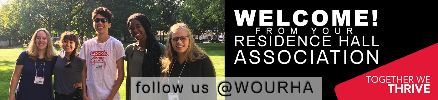 Welcome to WOU from your Residence Hall Association!