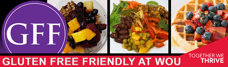 Gluten Free Friendly eating is easy - and DELICIOUS at WOU