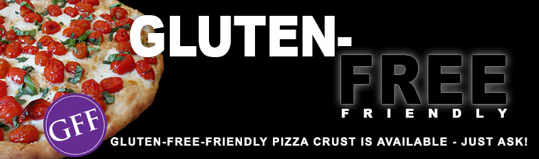 Ask for Gluten Free Pizza Crust for your next Pizza