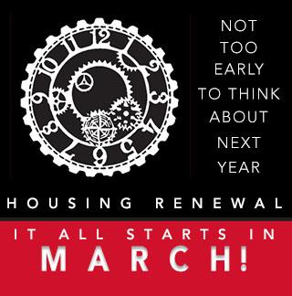 Housing Renewal Starts in February