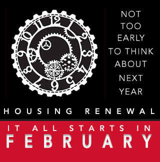 Housing Renewal Starts in February