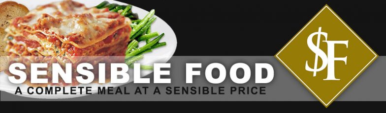 Sensible Food - A Complete Meal at a Sensible Price