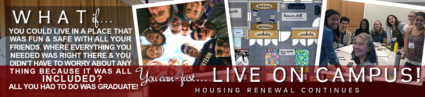 WHAT IF you could live in a place that was fun and safe with all your friends - Housing Renewal Continues