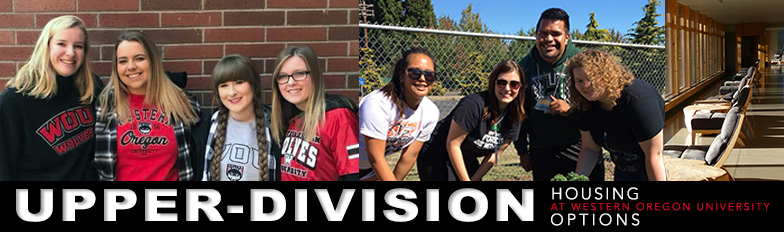 Upper-Division Hall options at WOU