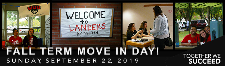 2019 Fall Term Move In Day