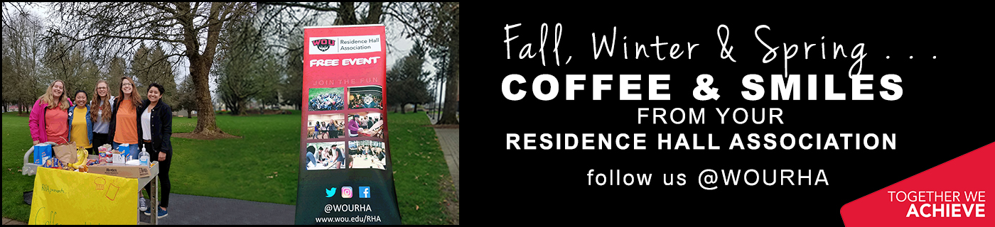 Coffee and Smiles - Year Round - from your RHA!