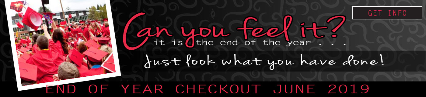 End of Year Checkout - June 2019