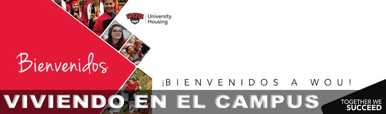 ABienvenidos a WOU - Viviendo en el Campus