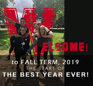 Welcome to Fall Term 2019