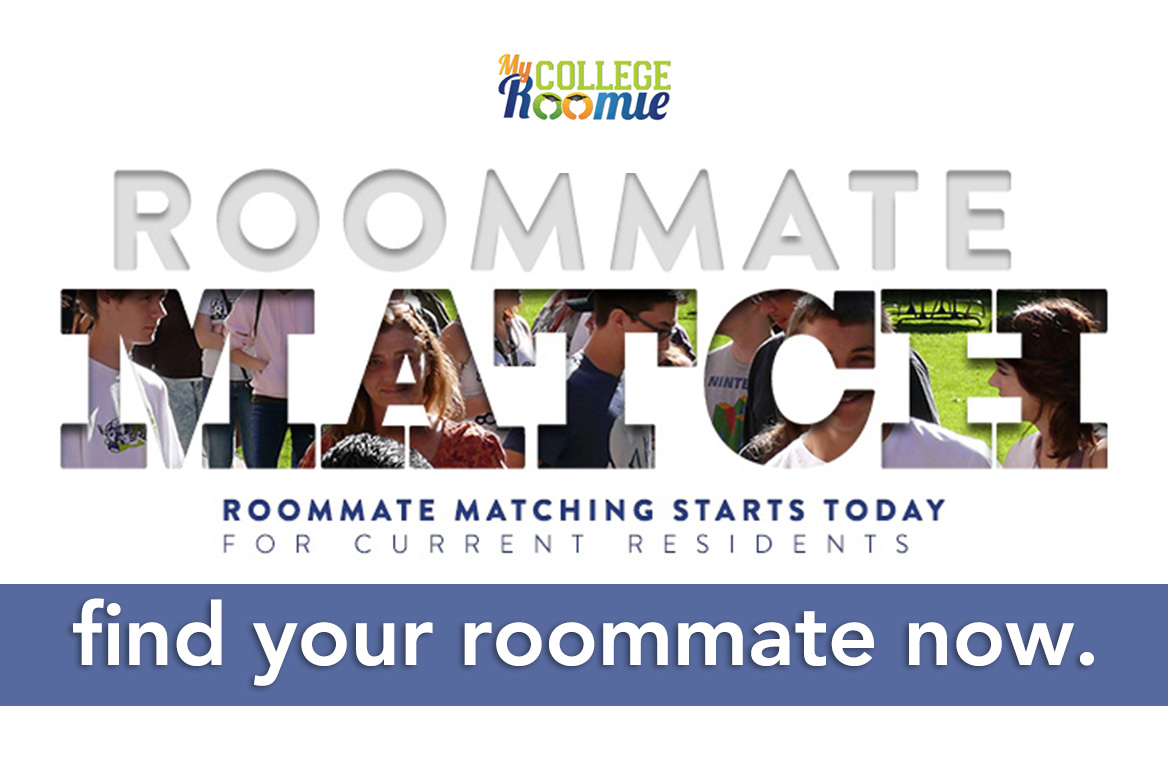 Choose your roommate now