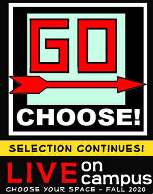 Go Choose Housing Selection Continues - Choose to Stay on Campus