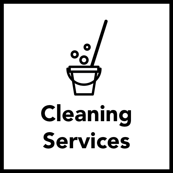 Cleaning Services Included for Residential Students